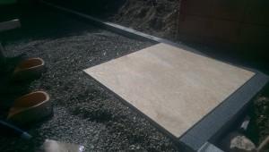 Feinsteinzeug Terrassenplatten in 2cm Dicke